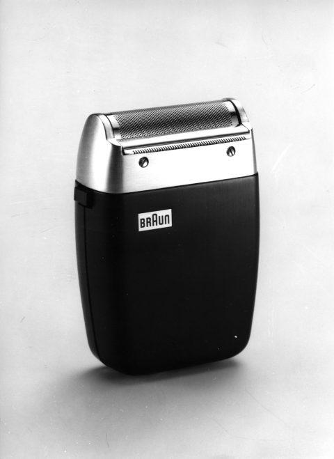 Rasierapparat Braun Sixtant. Entwurf: Hans Gugelot, Hersteller: Fa. Braun. Foto: Archiv Gugelot