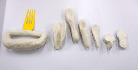 Cutlery Process Models(2018) Olivia Daigneault Deschênes © HfG-Archiv / Museum Ulm, Sign. DiR 2018.01