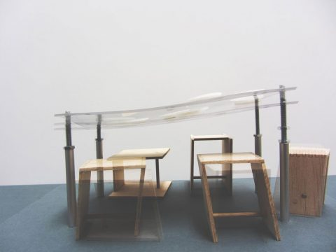 Table Model (2018) Olivia Daigneault Deschênes © HfG-Archiv / Museum Ulm, Sign. DiR 2018.30