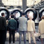 Informationsträger im deutschen Pavillon auf der expo 67