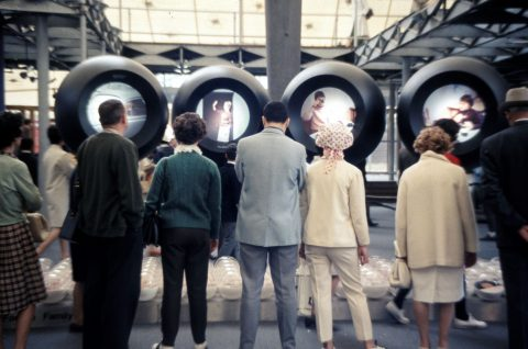 Display System in the German pavilion at expo 67
