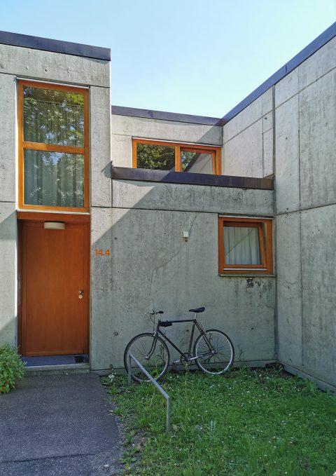 Wohnhaus auf dem Gelände der ehemaligen HfG Ulm: Residence des Designers. Foto: Simon Hettler