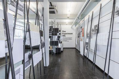 """Dauerausstellung """"Von der Stunde Null bis 1968"""" im HfG-Archiv Ulm. Foto: Jens Kramer"""