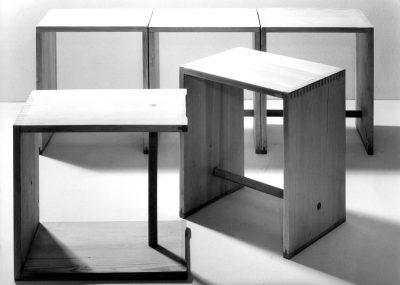 Ulm Stool, Design: Max Bill, Hans Gugelot and Paul Hildinger, 1954. Photo: Ernst Hahn, © HfG-Archiv Ulm. All rights reserved