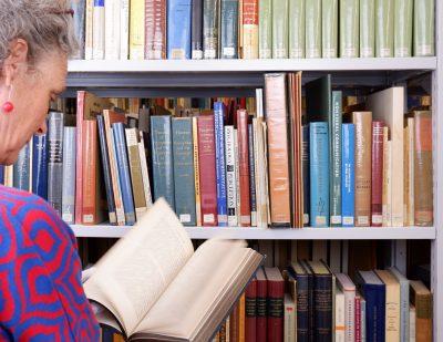 HfG-Archiv 2021, Bibliothek. Foto: Sylvia Morlock, © HfG-Archiv